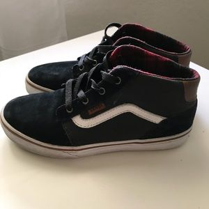 Boys vans size youth 4
